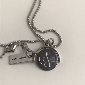 Marc Jacobs spinning I Love you Necklace